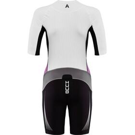 HUUB Anemoi Aero Traje Triatlón Mujer, negro/blanco